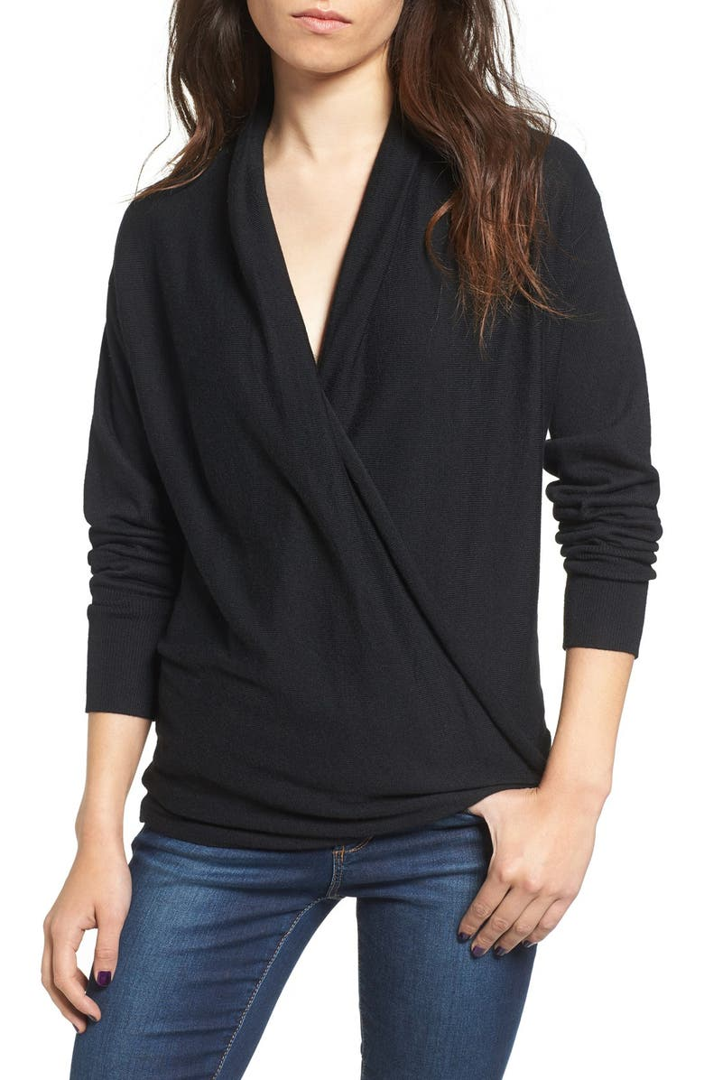 BP. Wrap Front Pullover, Main, color, 001