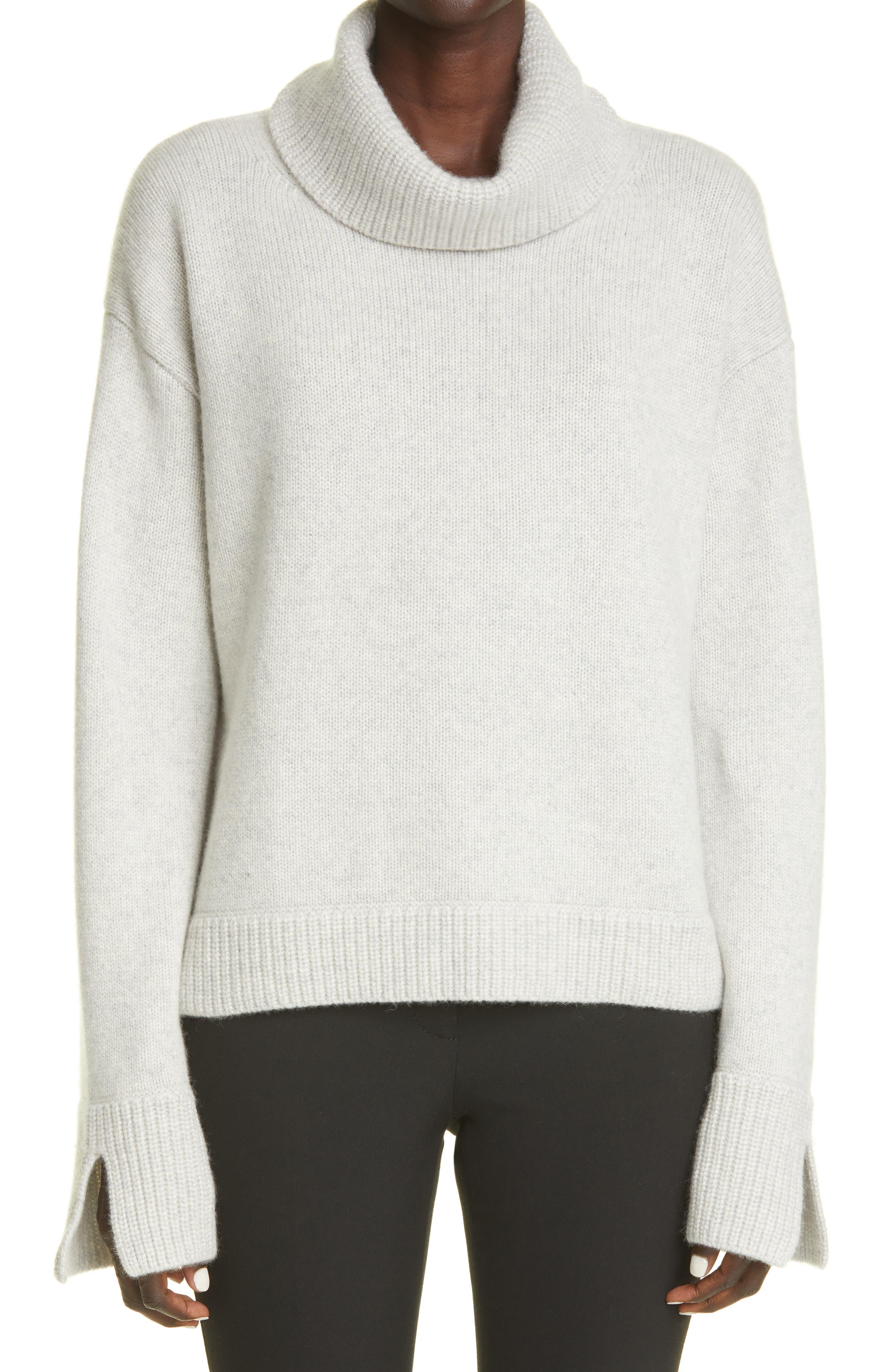 Parsons Turtleneck Green Cashmere Sweater