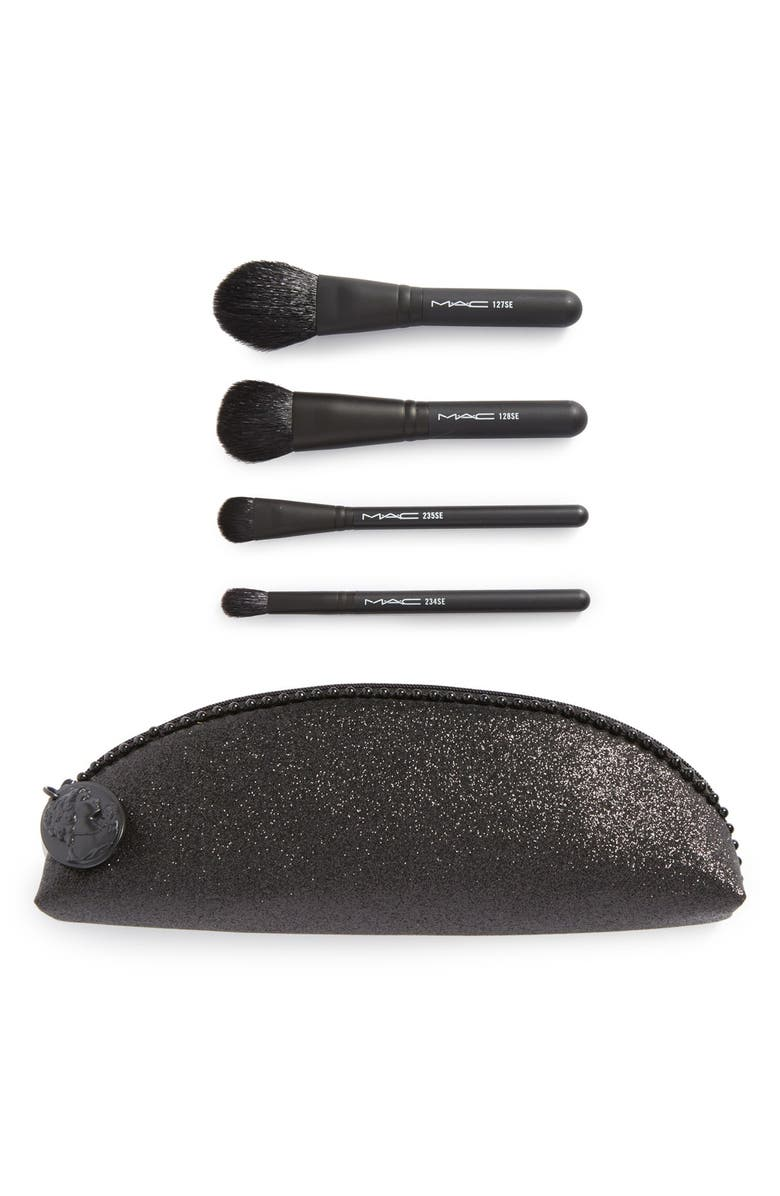 MAC COSMETICS M·A·C 'Keepsakes - In Extra Dimension' Double-Sided Brush Kit, Main, color, 000