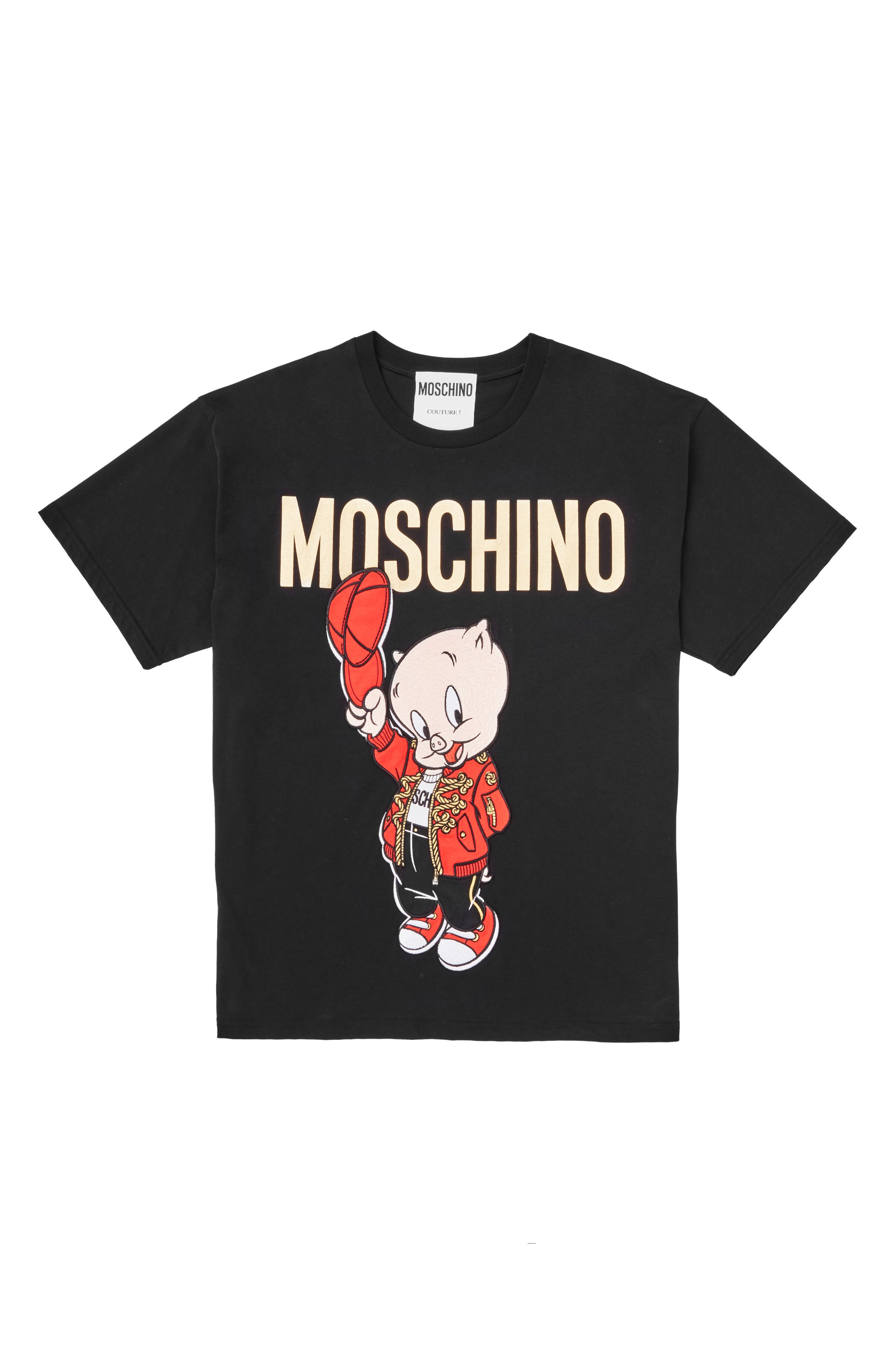 ,                             Porky Pig Graphic Tee,                             Main thumbnail 1, color,                             002