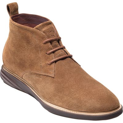 Cole Haan Grandev?lution Water Resistant Chukka Boot- Brown