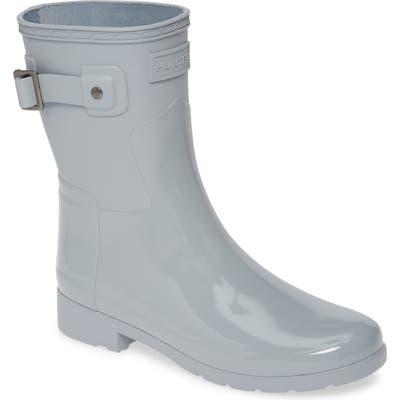 Hunter Original Refined Mixed Finish Short Waterproof Rain Boot