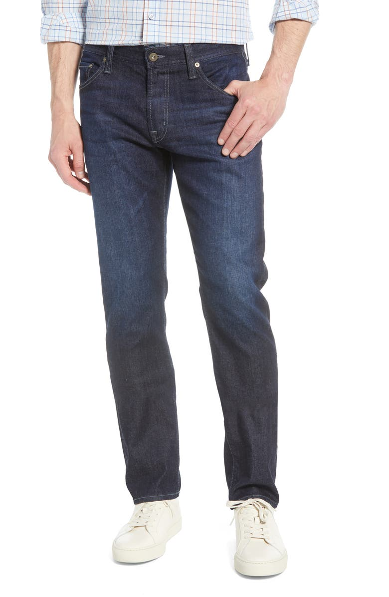 AG Graduate Slim Straight Leg Jeans, Main, color, CLEF