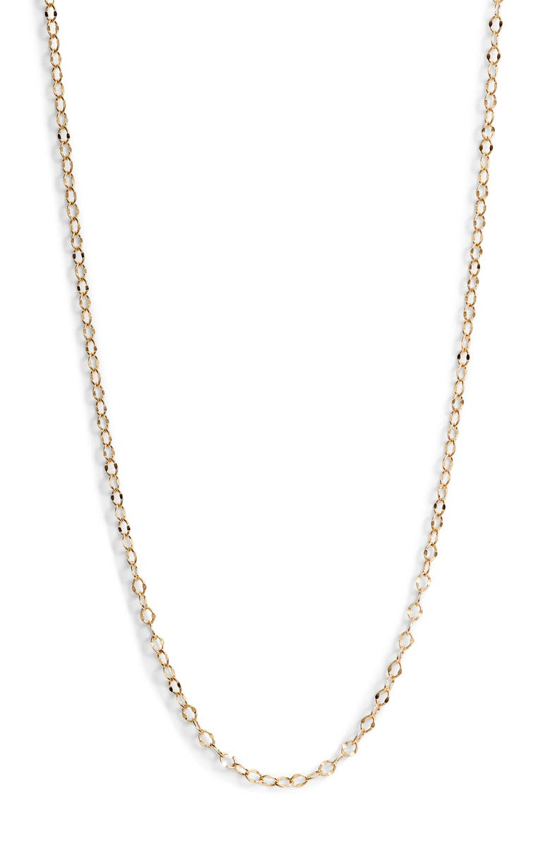 BONY LEVY Open Link Chain Necklace, Main, color, YELLOW GOLD