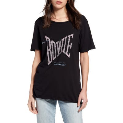 Recycled Karma Bowie Tee, Black