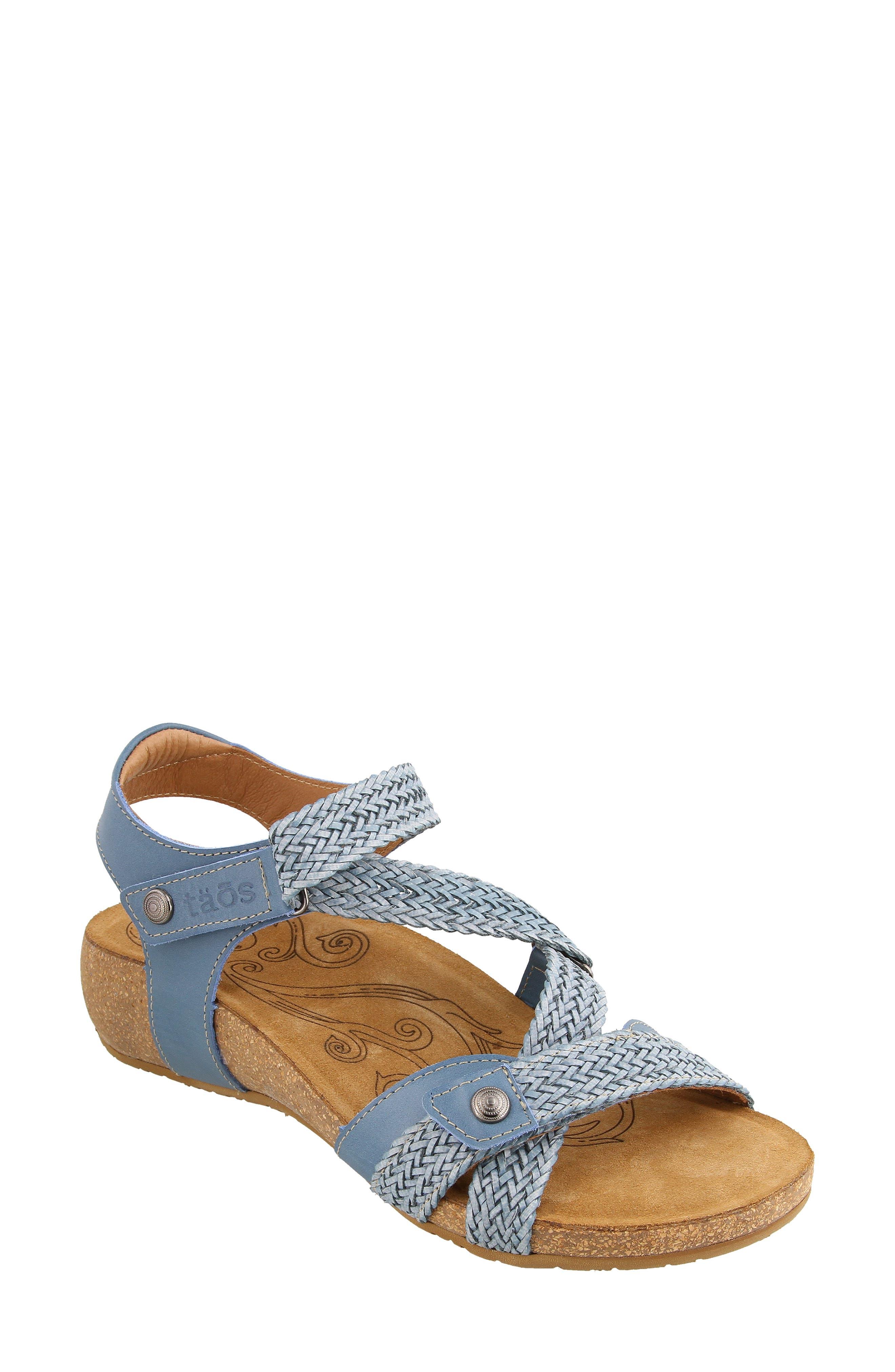 Taos 'Trulie' Wedge Sandal (Women