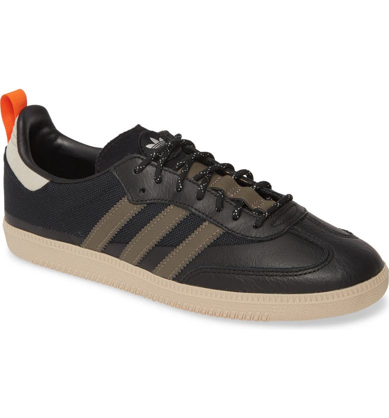 ADIDAS Samba OG Sneaker, Main, color, CORE BLACK/ TRACE GREY/ GREY