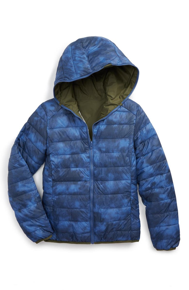 the latest 3feea 43e4f Save the Duck Water Resistant Reversible Hooded Jacket ...