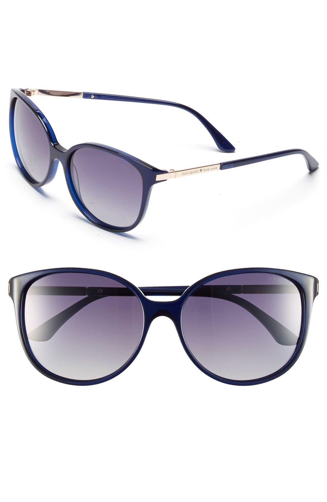 ,                             'shawna' 56mm polarized sunglasses,                             Main thumbnail 8, color,                             400