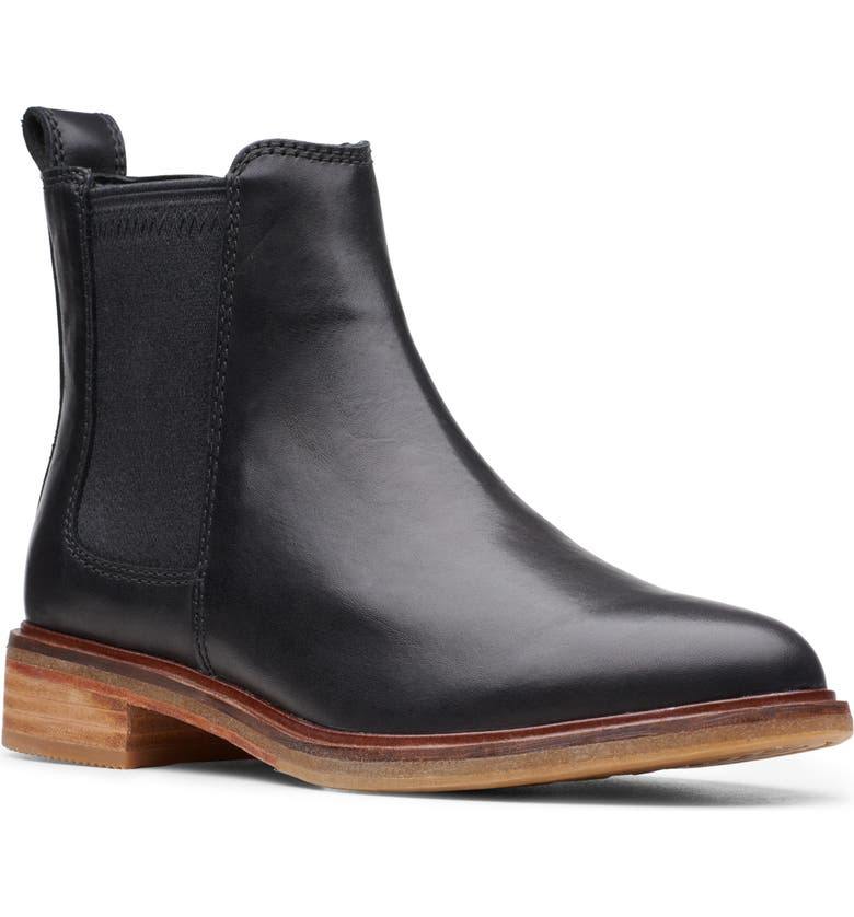 CLARKS<SUP>®</SUP> Clarkdale Arlo Boot, Main, color, BLACK LEATHER