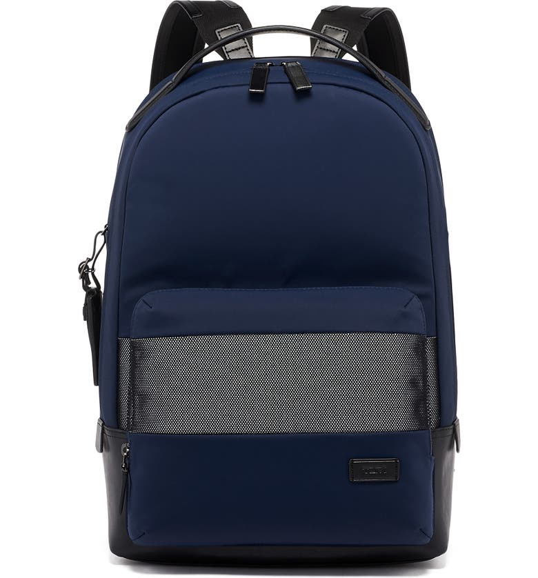TUMI Harrison Webster Navy Backpack, Main, color, 403