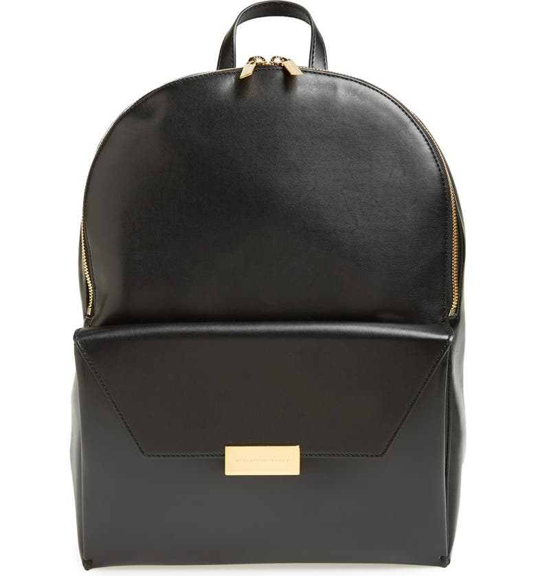 STELLA MCCARTNEY 'Eco' Faux Nappa Backpack, Main, color, 001