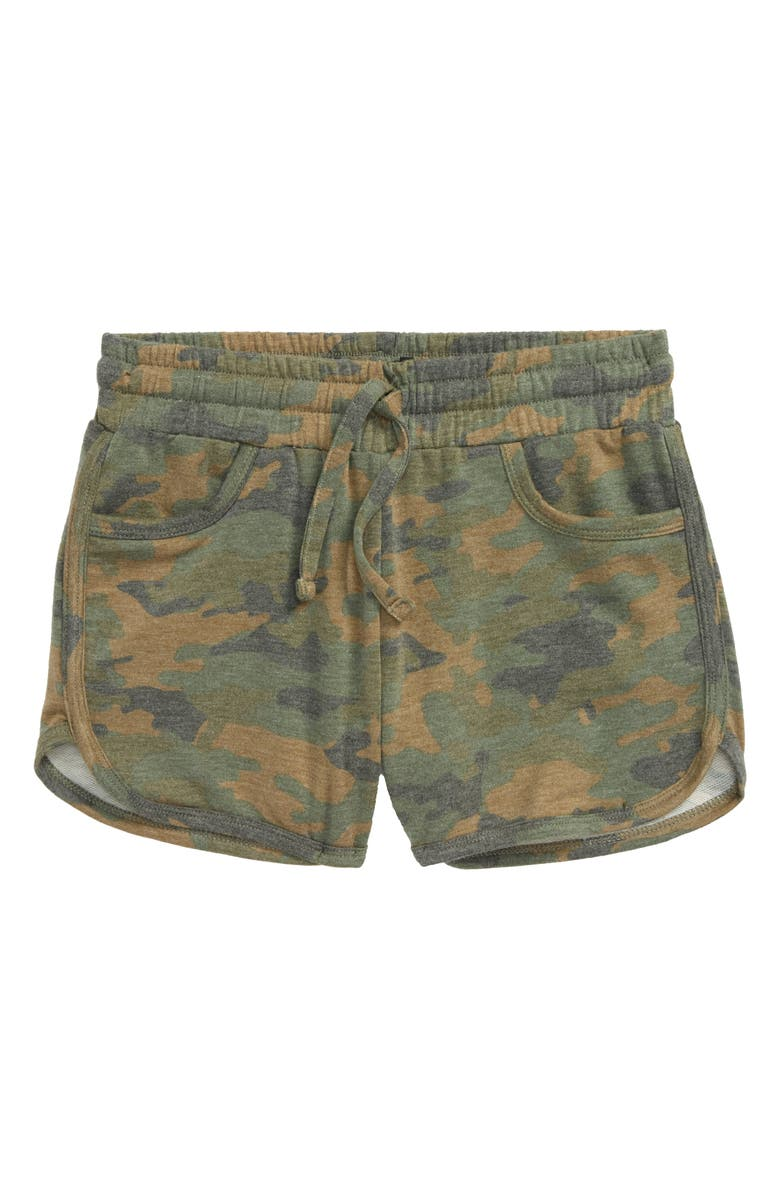 JOE'S Camo Print Shorts, Main, color, CAM-CAMO PRINT