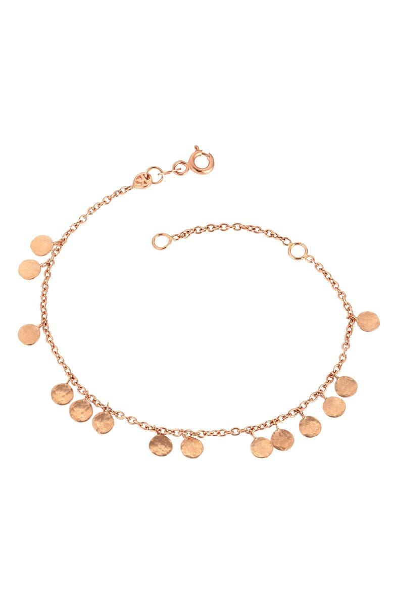 KISMET BY MILKA Dangling Circles Bracelet, Main, color, 712