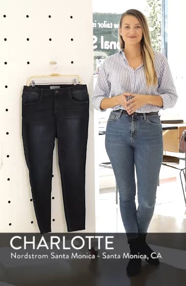 'Super Smooth' Stretch Skinny Jeans, sales video thumbnail