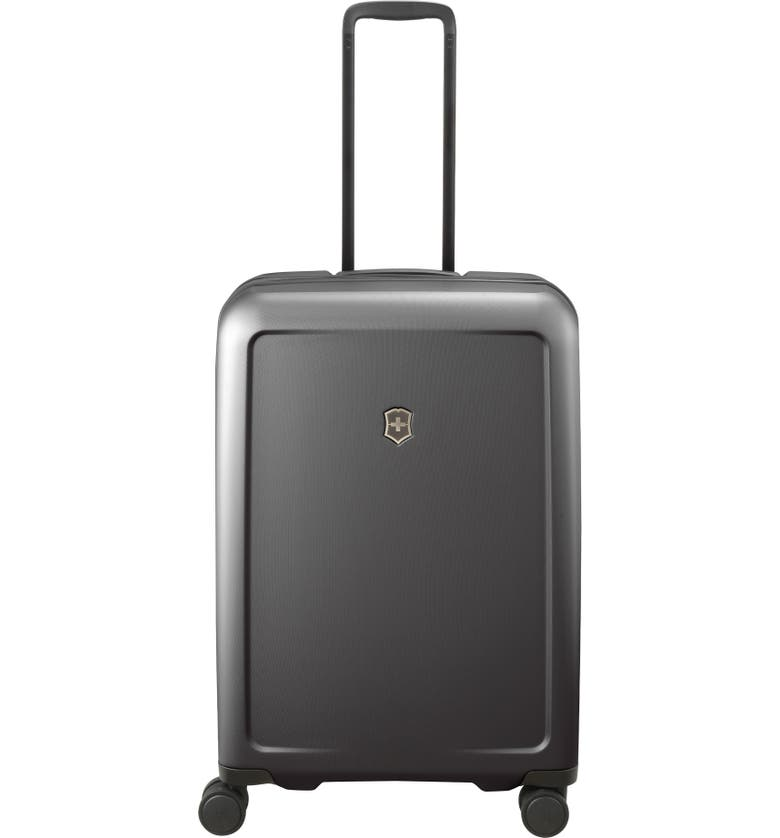 VICTORINOX SWISS ARMY<SUP>®</SUP> Connex Medium 27-Inch Spinner Hardside Packing Case, Main, color, BLACK