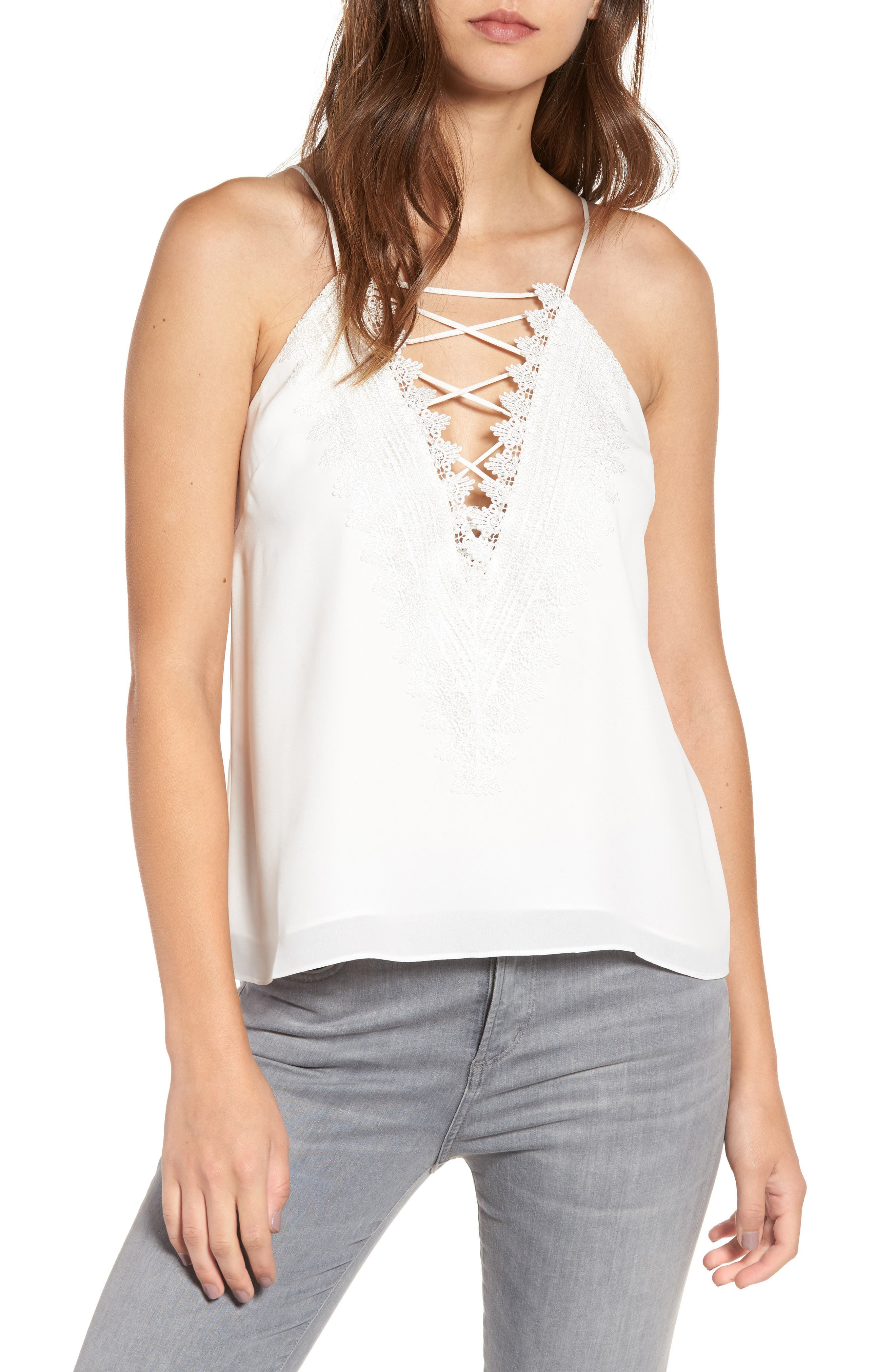 ,                             Posie Strappy Camisole,                             Main thumbnail 98, color,                             900