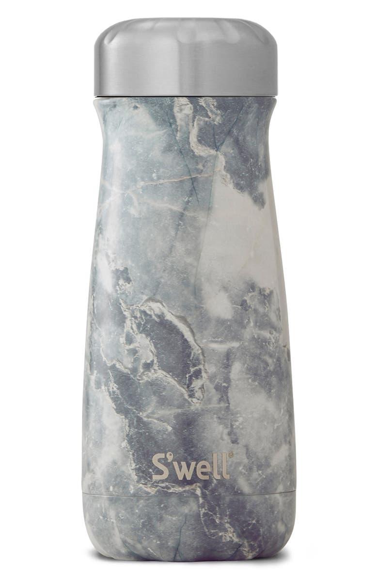 S'WELL Traveler Blue Granite 16-Ounce Insulated Traveler Bottle, Main, color, BLUE GRANITE