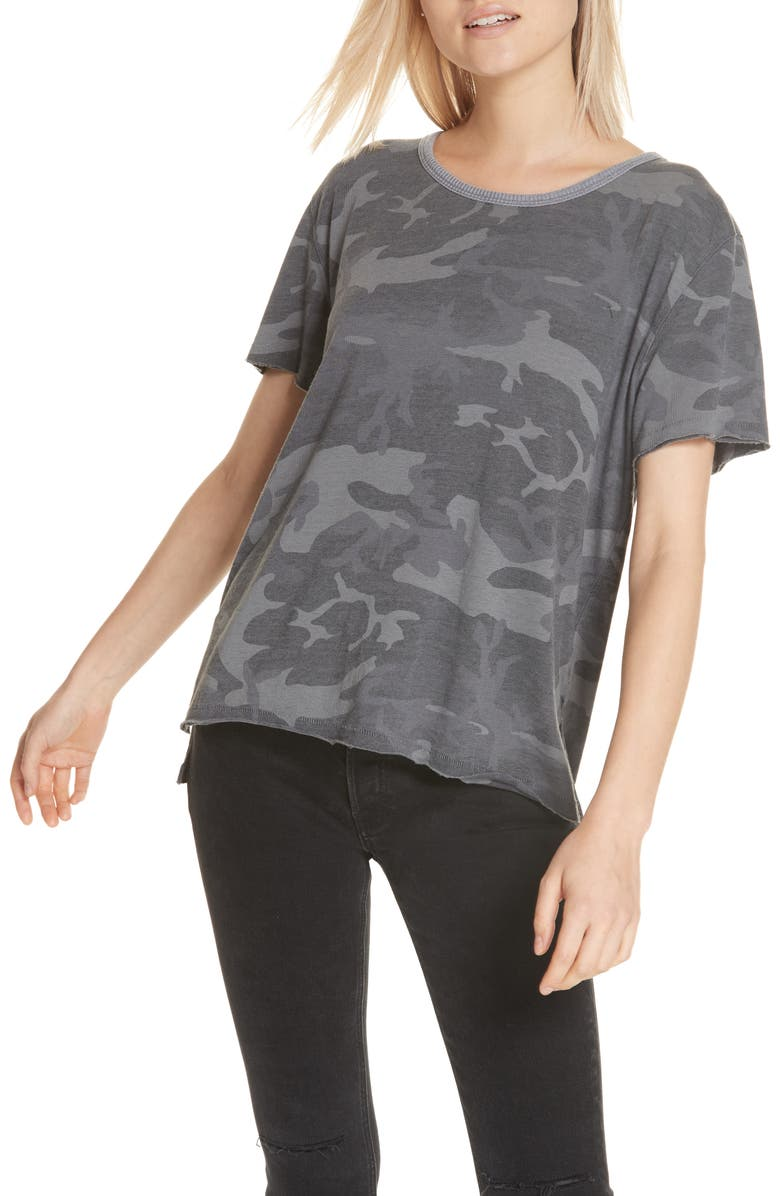 FREE PEOPLE Army Tee, Main, color, 020