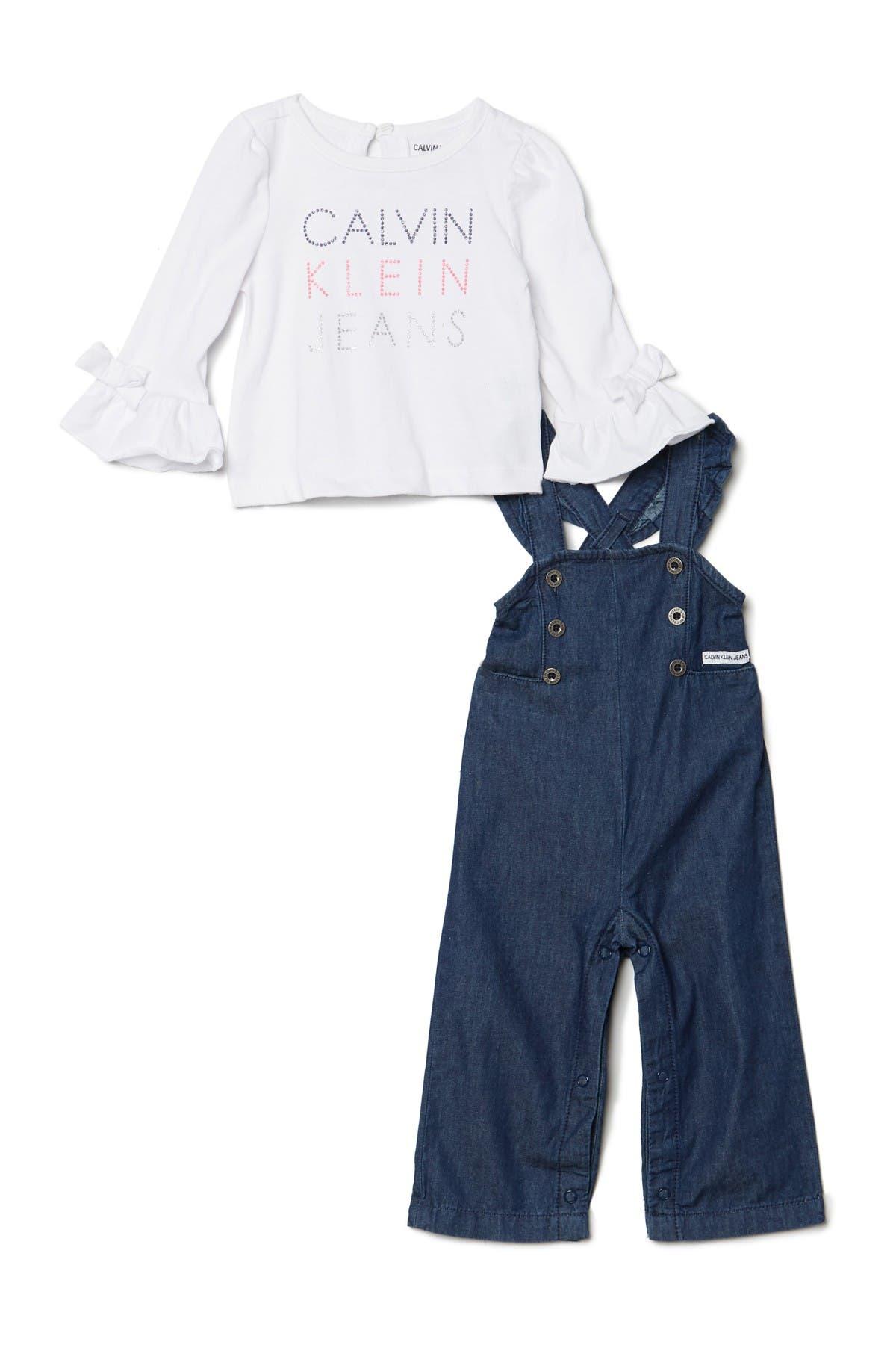 Image of Calvin Klein Overalls Set