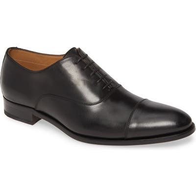 To Boot New York Forley Cap Toe Oxford, Black