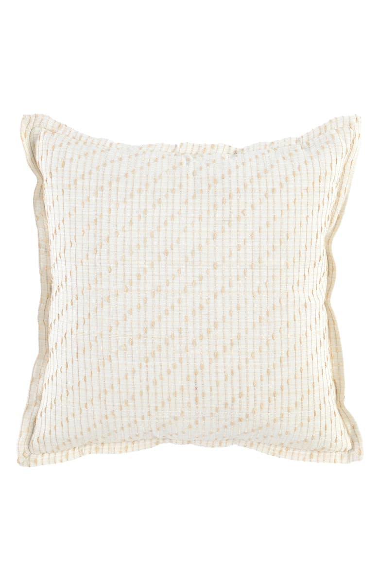 VILLA HOME COLLECTION Elsa Accent Pillow, Main, color, IVORY/ NATURAL