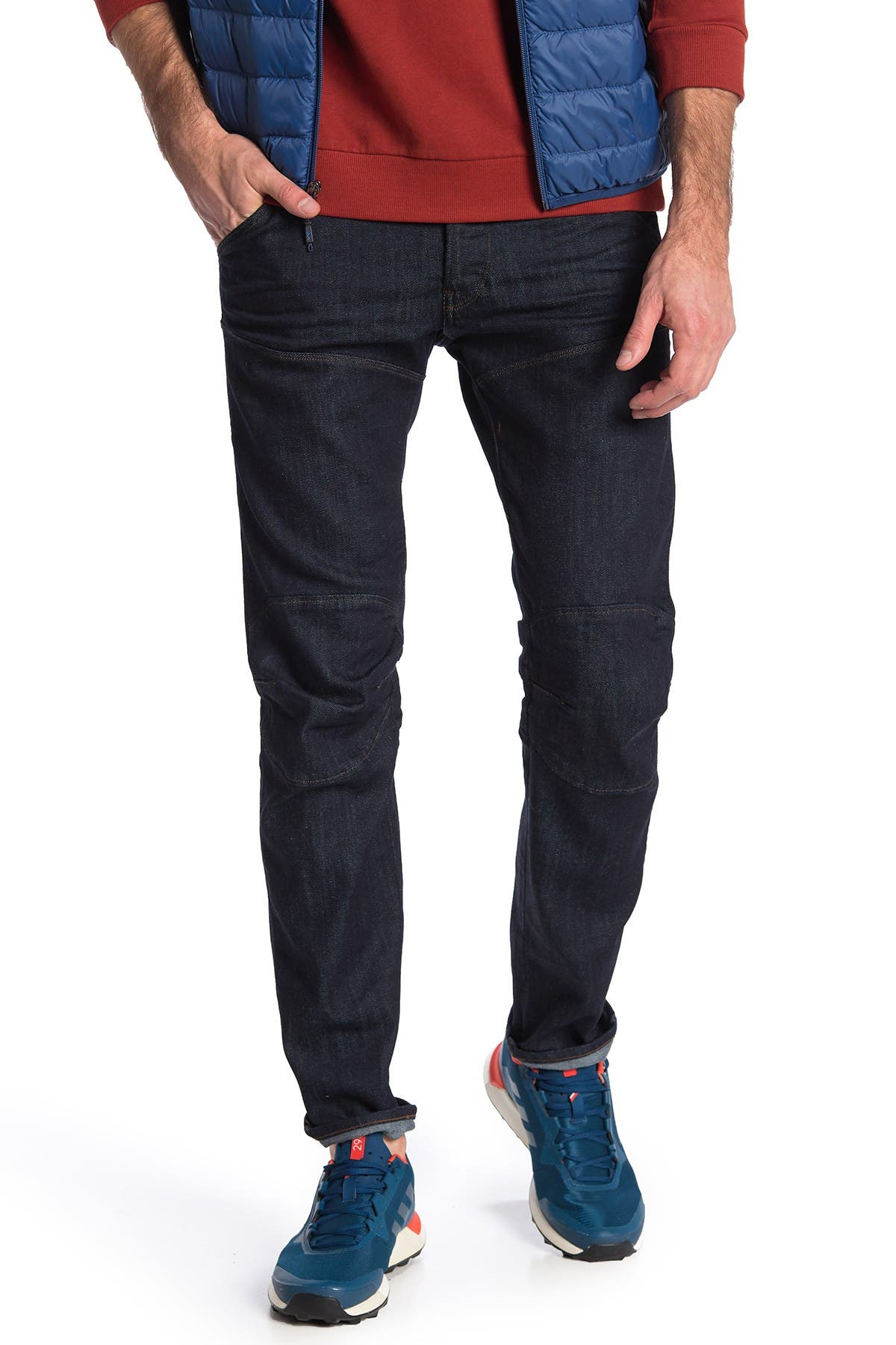Image of G-STAR RAW 5620 Deconstructed Tapered Leg Jean