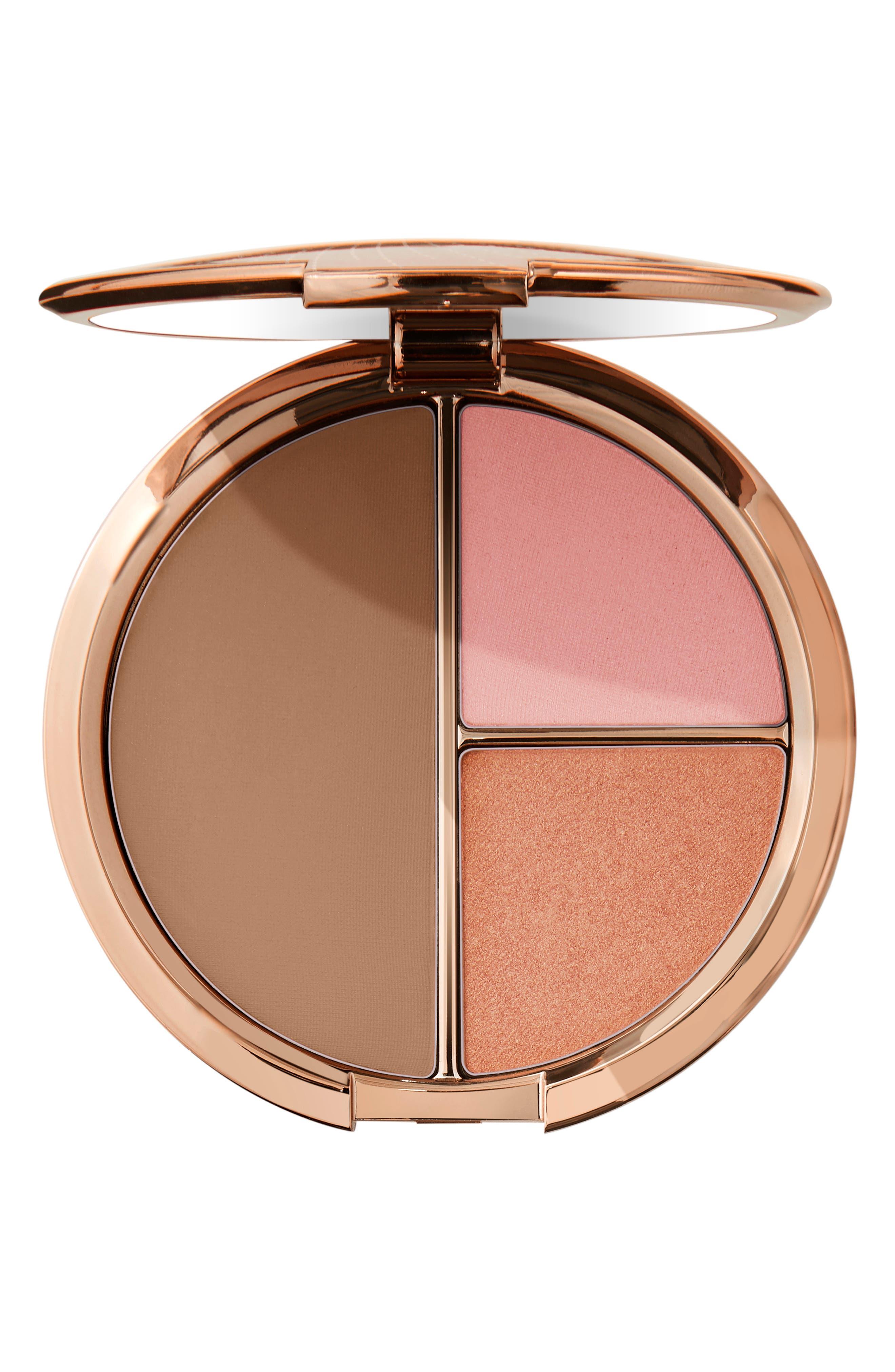 Face & Cheek Blush & Bronzer Palette