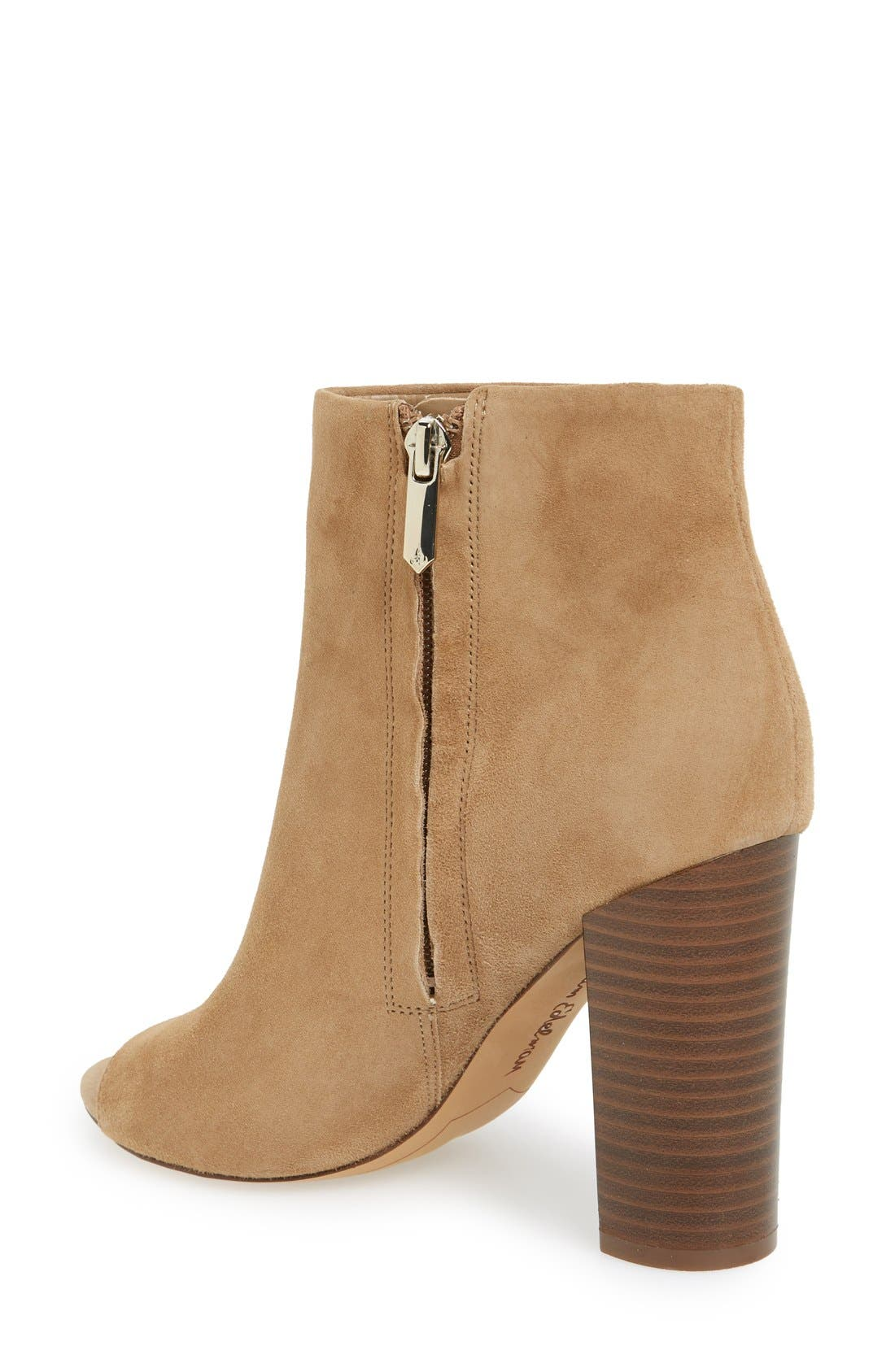 ,                             'Yarin' Open Toe Bootie,                             Alternate thumbnail 7, color,                             250