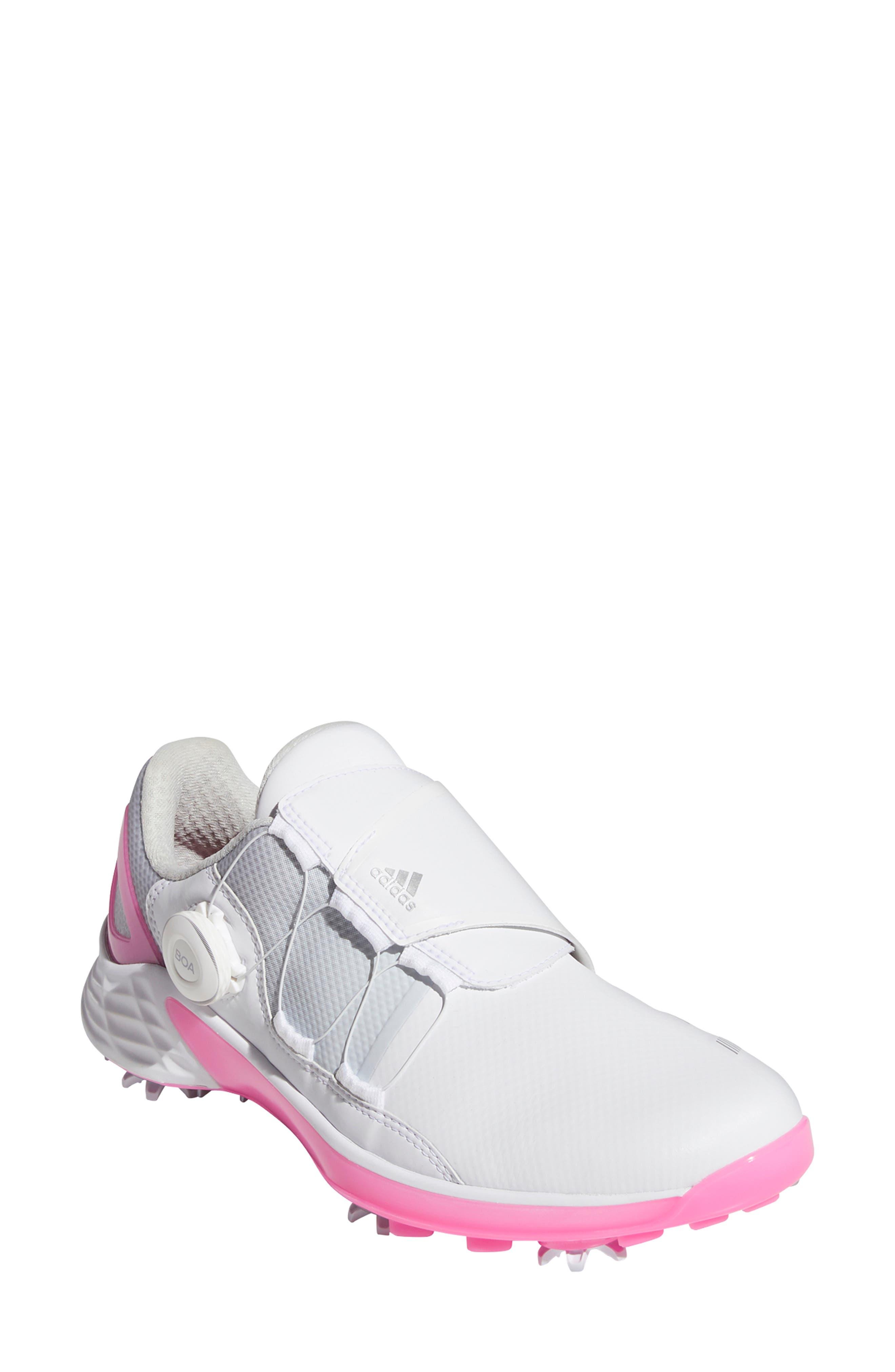 Women's Adidas Zg21 Boa Waterproof Golf Shoe