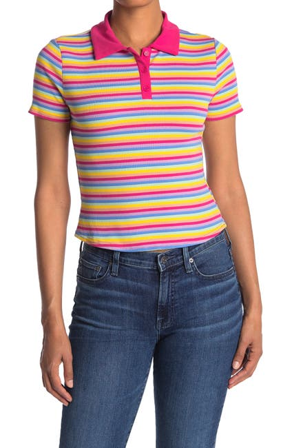 Image of Abound Stripe Knit Polo Shirt
