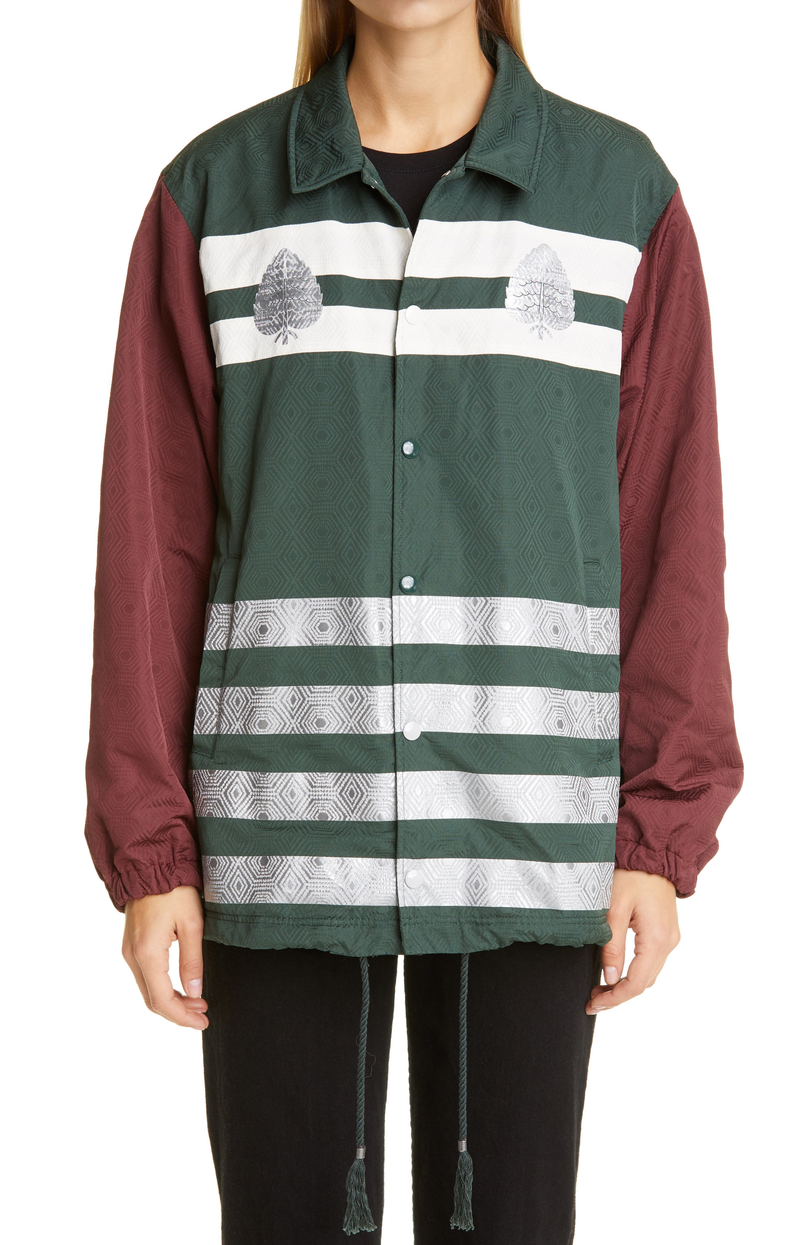 Undercover Colorblock Stripe Jacket   Nordstrom