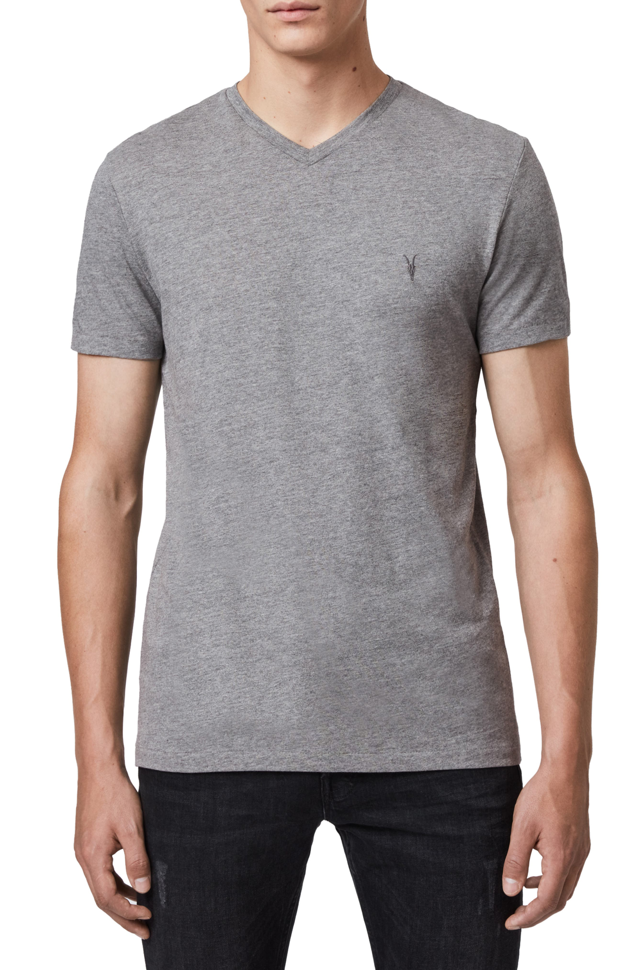 Image of ALLSAINTS Tonic V-Neck Shirt