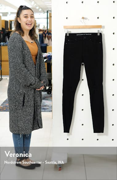 Hilary High Waist Ripped Ankle Skinny Jeans, sales video thumbnail