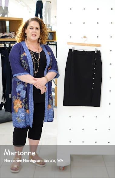 Vikilena Ponte Pencil Skirt, sales video thumbnail