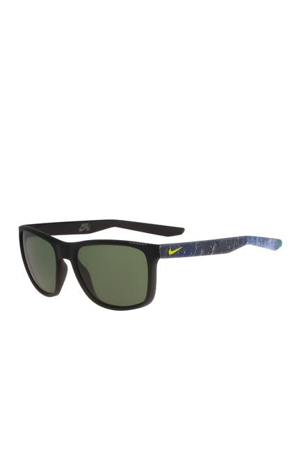 Image of Nike Unrest 57mm Square Sunglasses