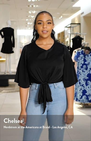Stripe Cotton & Linen Polo Sweater, sales video thumbnail