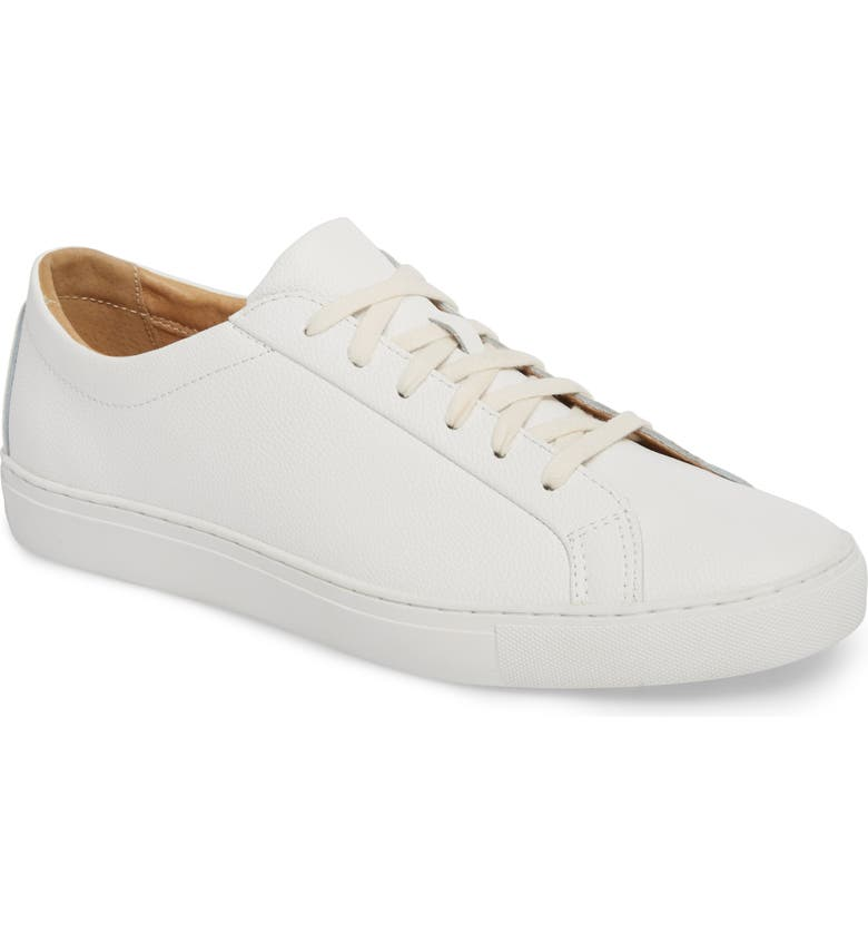TCG Kennedy Low Top Sneaker, Main, color, WHITE LEATHER