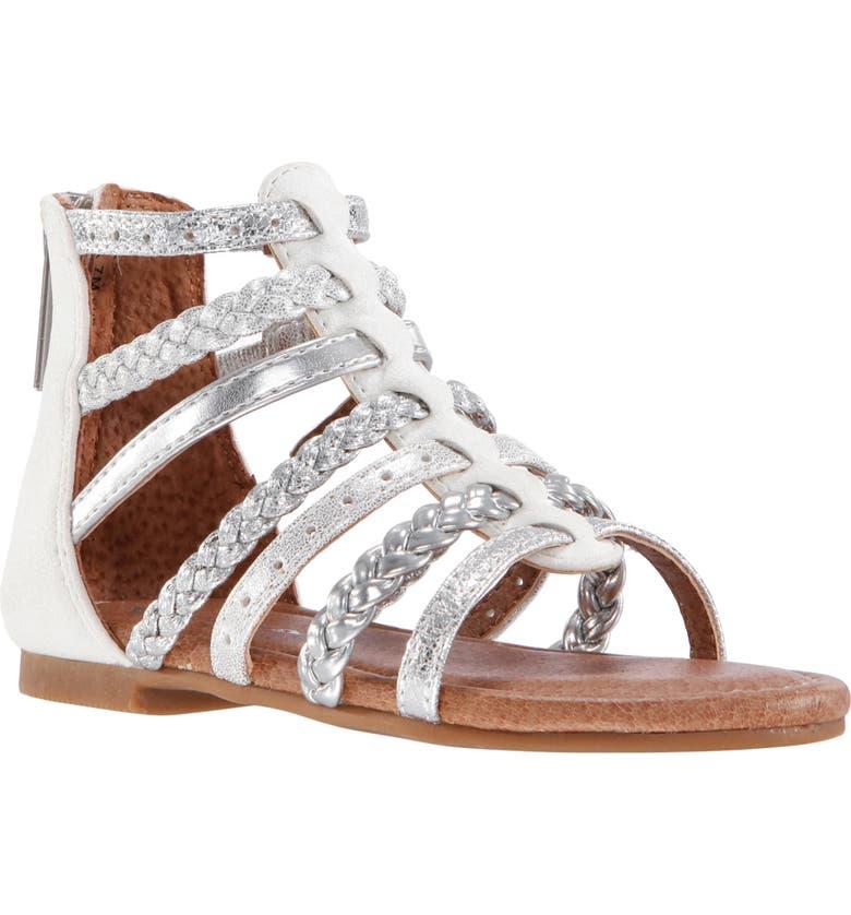 NINA Allice Metallic Sandal, Main, color, 040