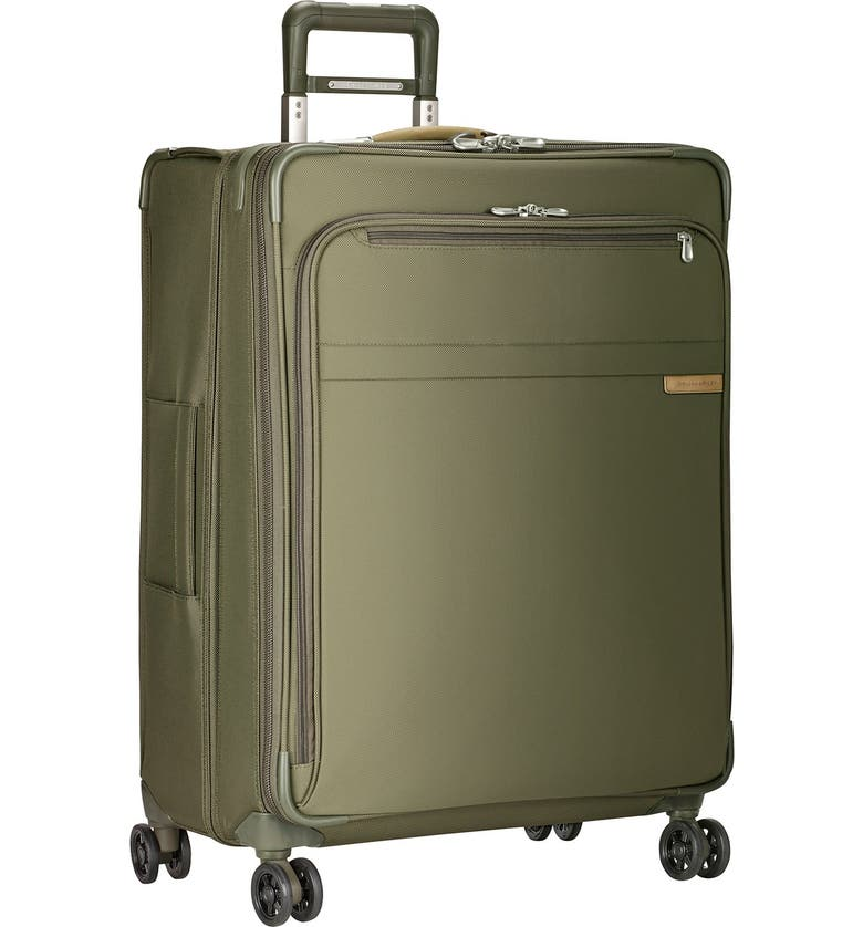 BRIGGS & RILEY 'Baseline' Large Expandable Rolling Packing Case, Main, color, OLIVE
