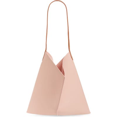 Bp. Center Seam Faux Leather Tote - Pink