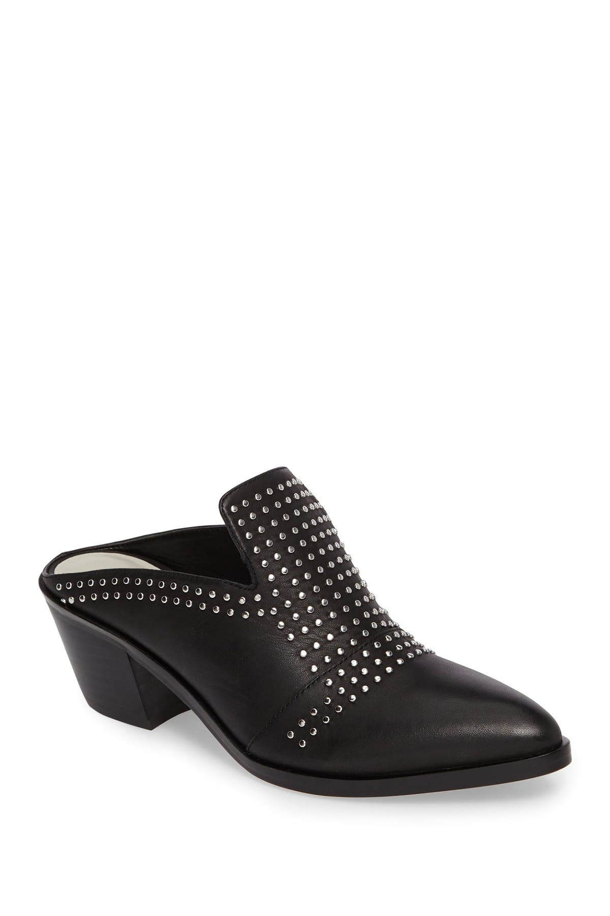 Image of 1.State Lon Leather Casual Studded Mule