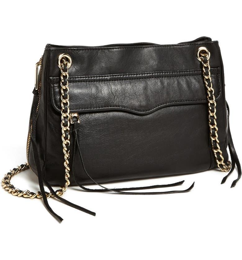 REBECCA MINKOFF 'Swing' Convertible Shoulder Bag, Main, color, 003