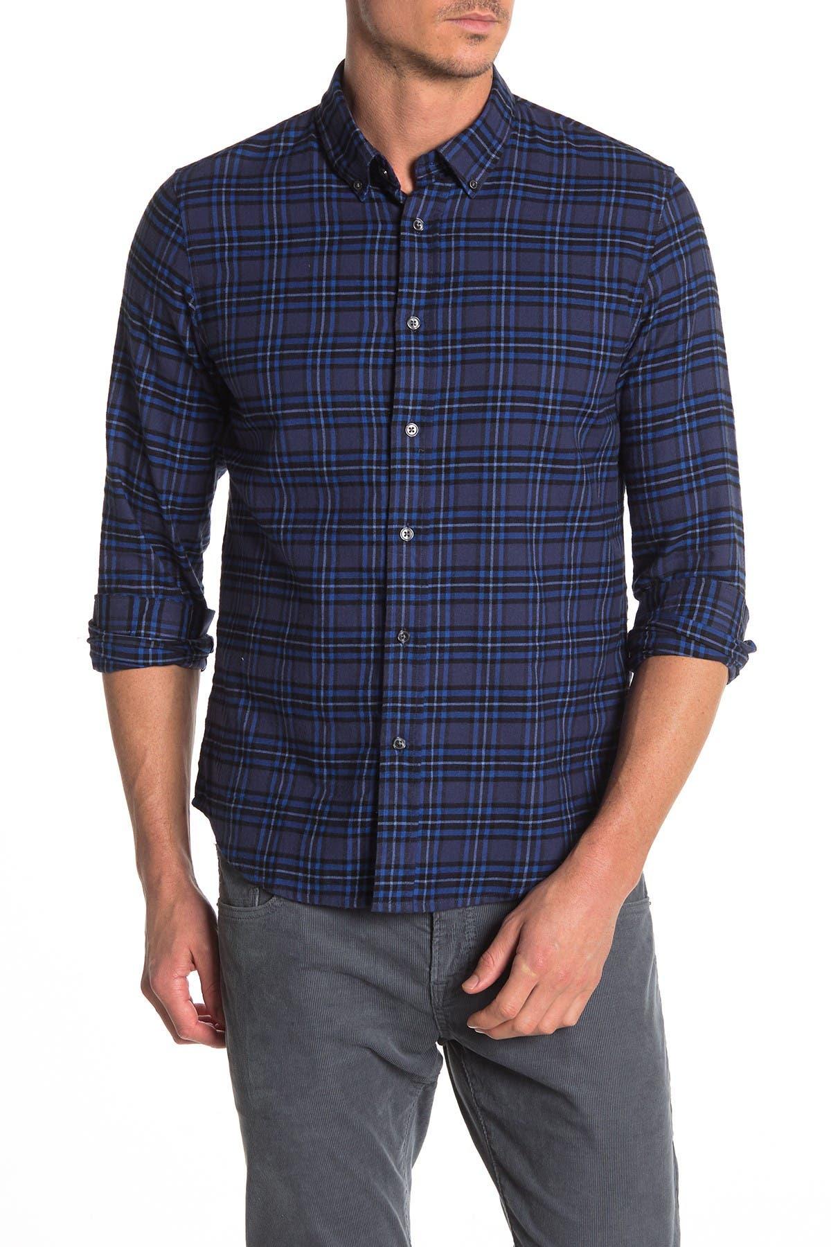 Image of Slate & Stone Plaid Printed Shirt