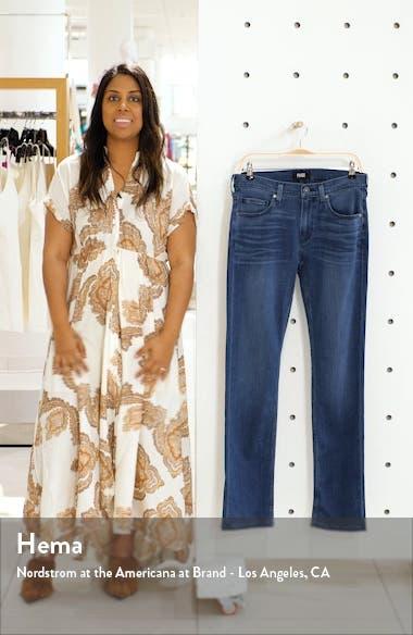 Transcend Federal Slim Fit Straight Leg Jeans, sales video thumbnail