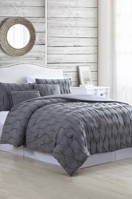Image of Modern Threads 5-Piece Textured Comforter Set - Harper - King