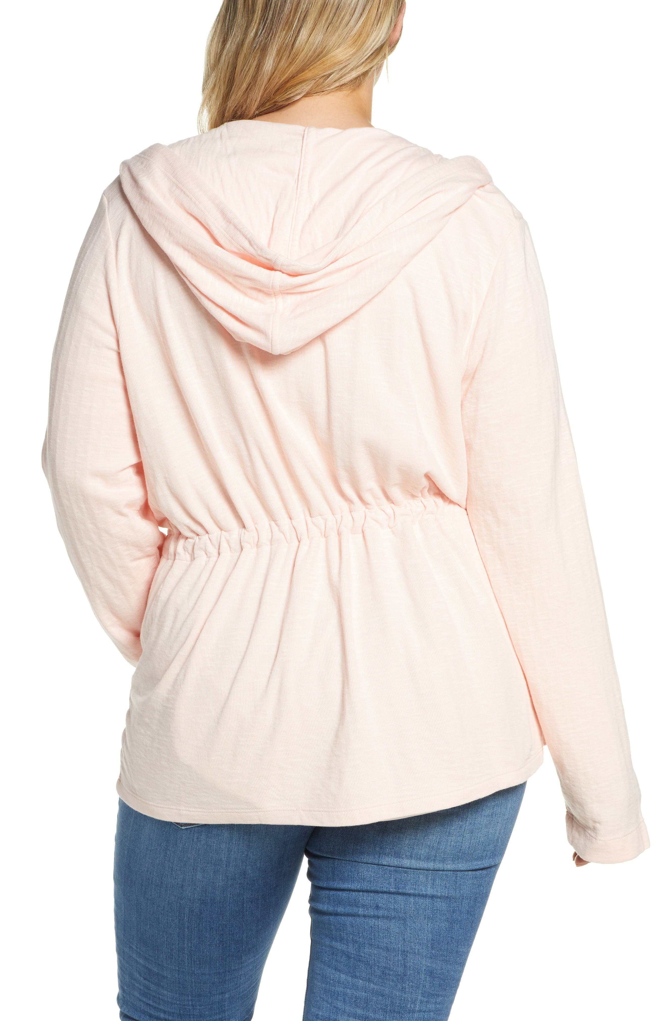 ,                             Open Front Hooded Cardigan,                             Alternate thumbnail 27, color,                             680
