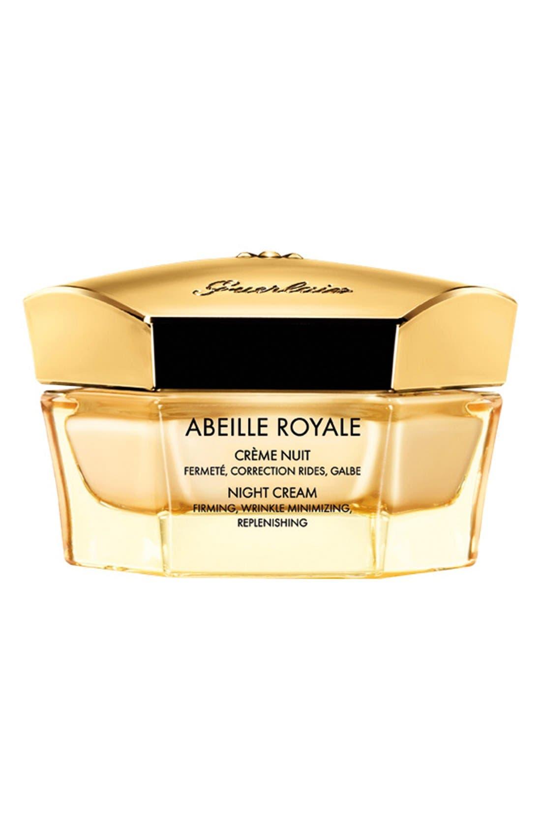 ,                             Abeille Royale Night Cream,                             Main thumbnail 1, color,                             NO COLOR