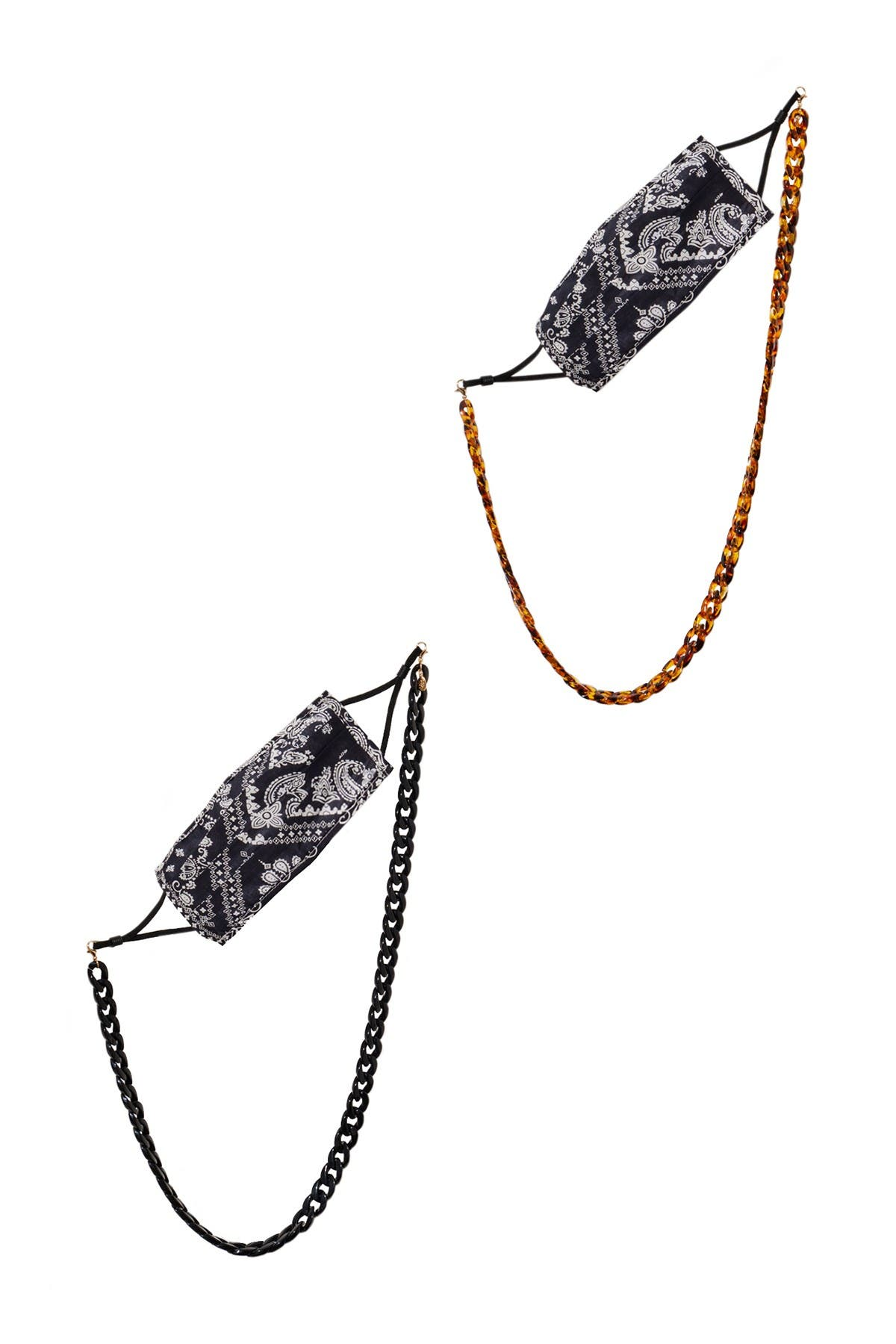 Image of 8 Other Reasons Face Mask Chain - Set of 2