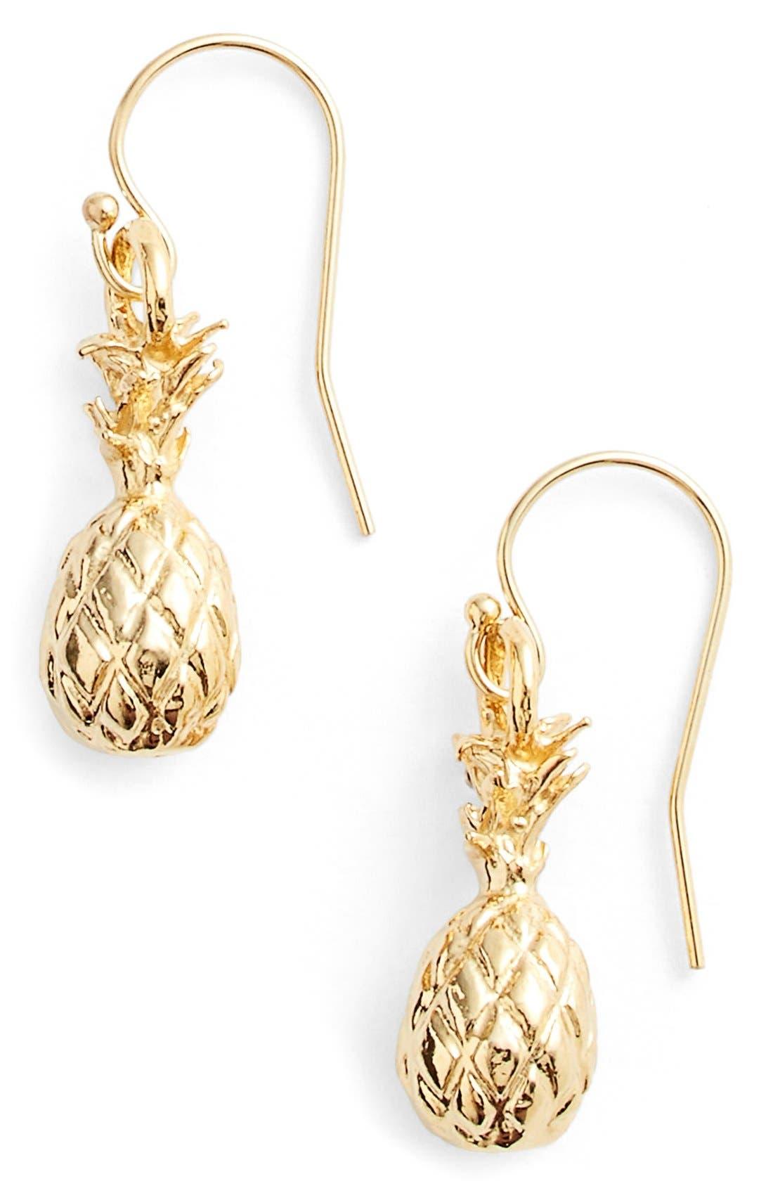 'Hawaiian Pinya' Drop Earrings